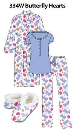 Butterfly Hearts Loungewear