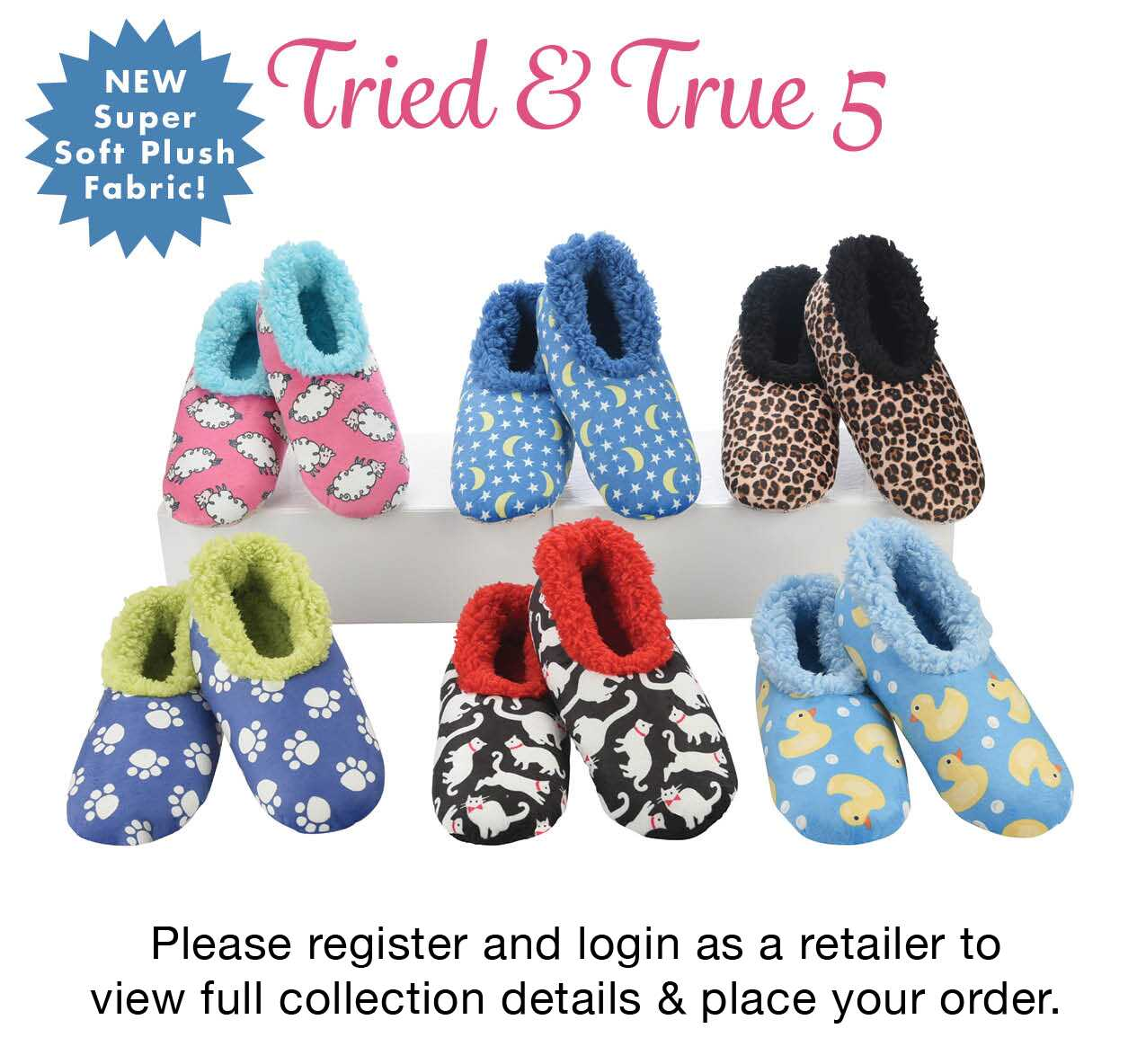 Womens Tried True 5 snoozies Collection   Size : S-L   Scale : 1-2-3   Qty : 36 Pr